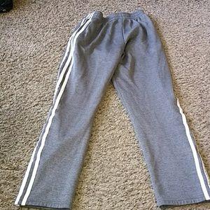 adidas Pants - Adidas sweat pants  (14-16yrs)Large and free short